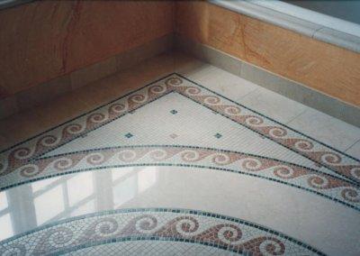 Badeværelse med mosaik