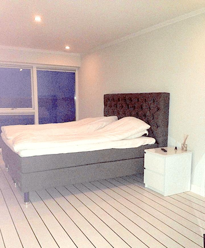 Soveværelse, før