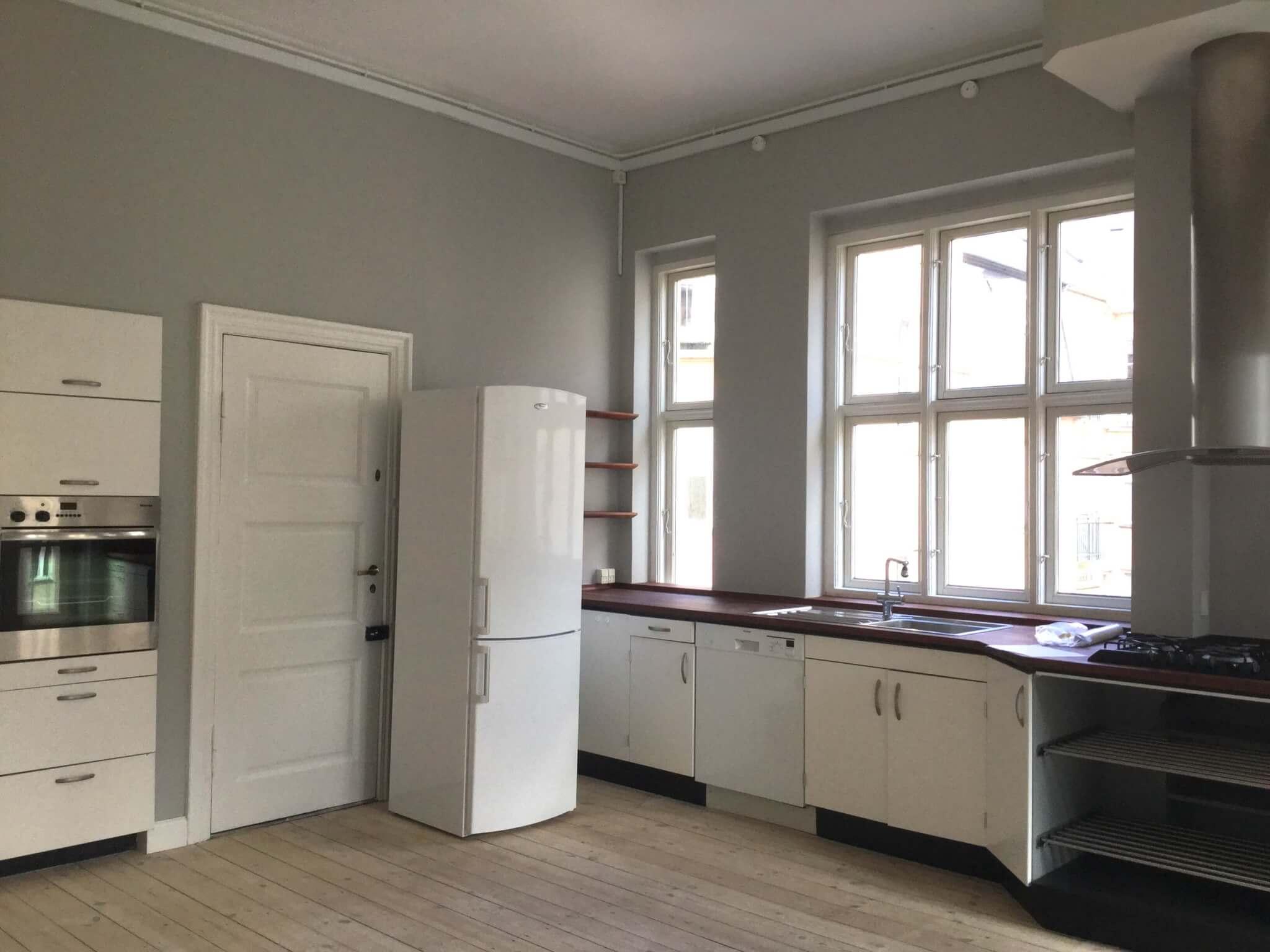 Køkken før renovering