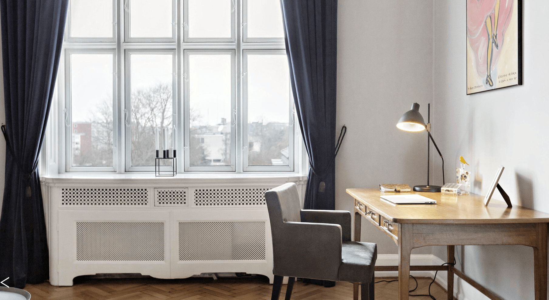 Nyindretning af stue