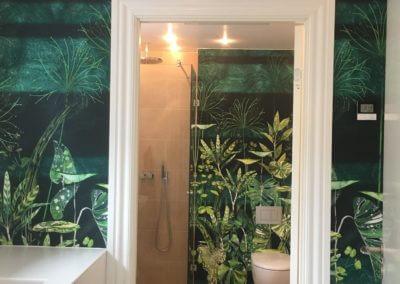 Badeværelse design, før/efter