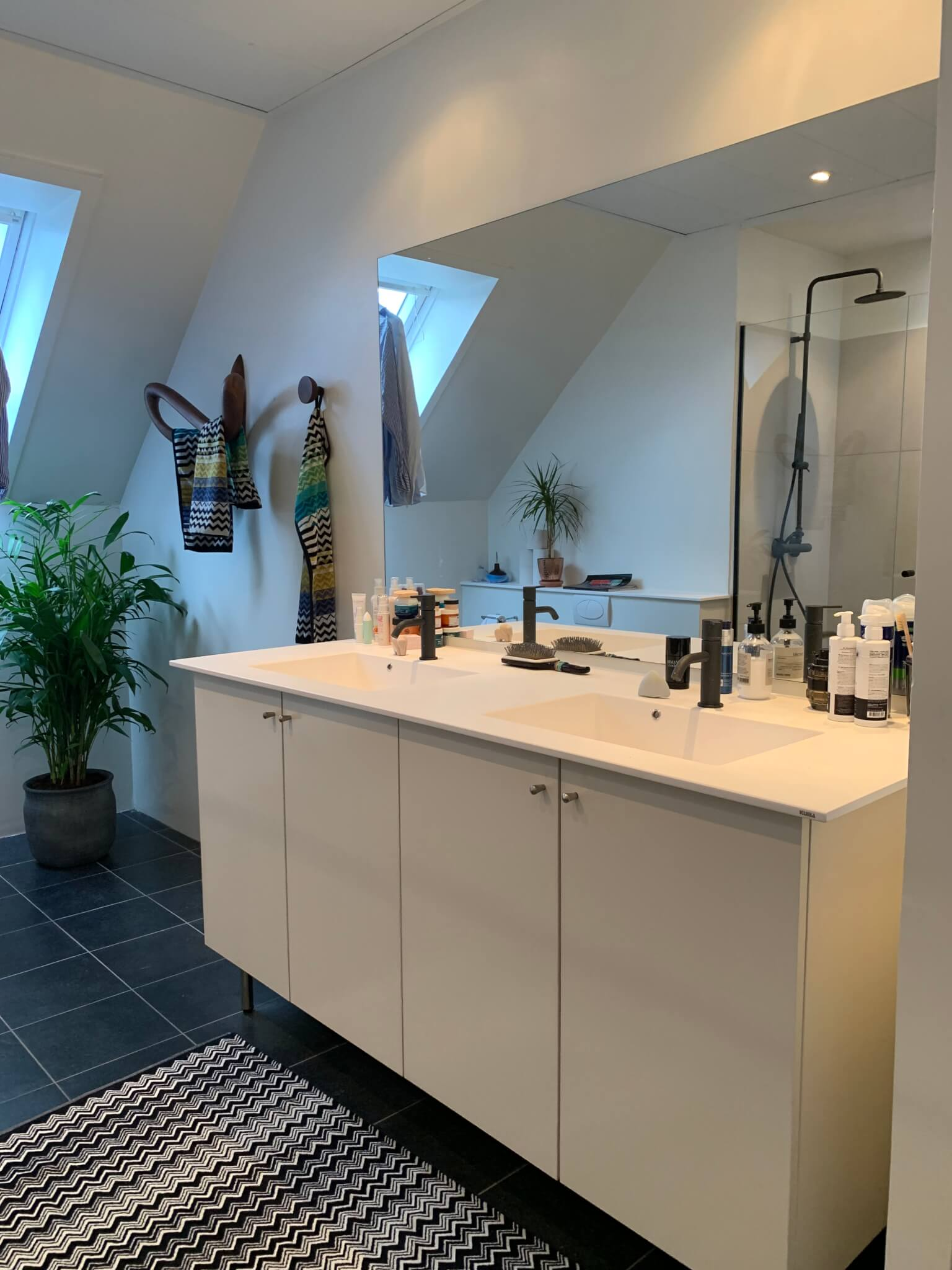 Badeværelset EFTER