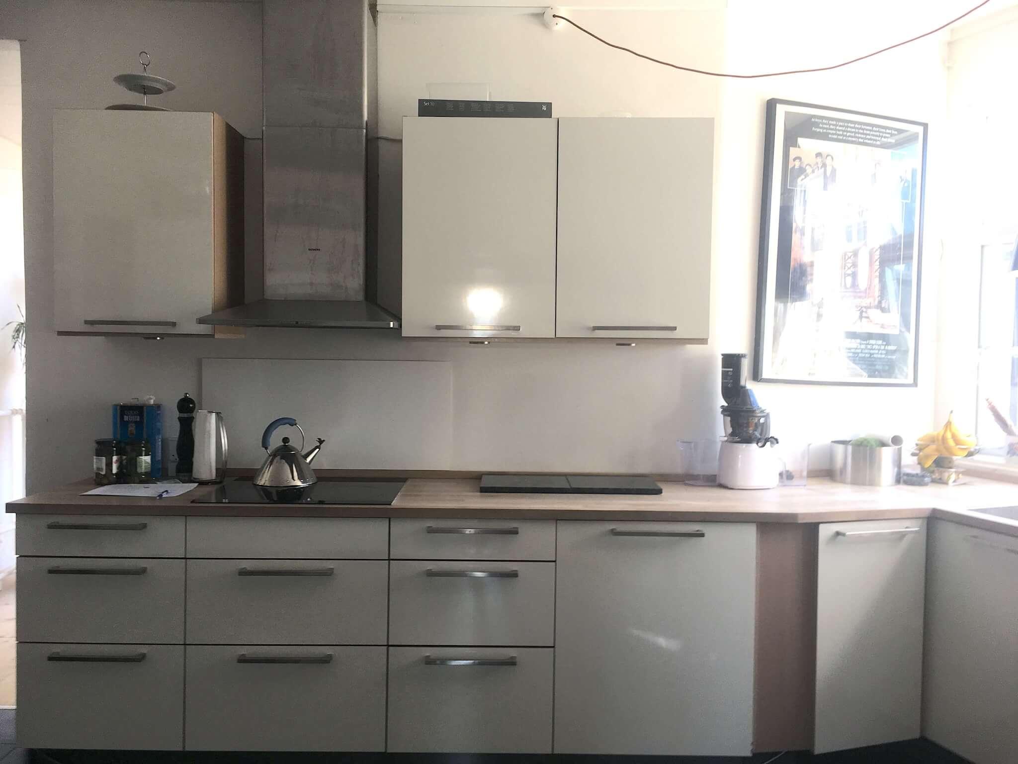 Køkkenet FØR