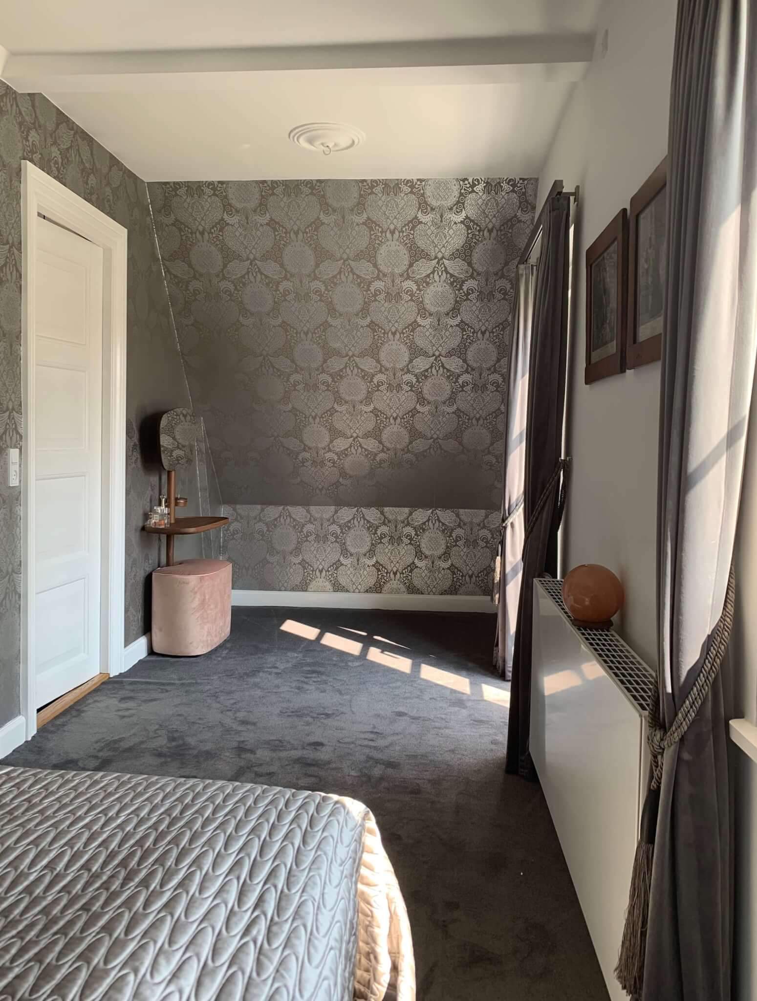 Nyindrettet soveværelse