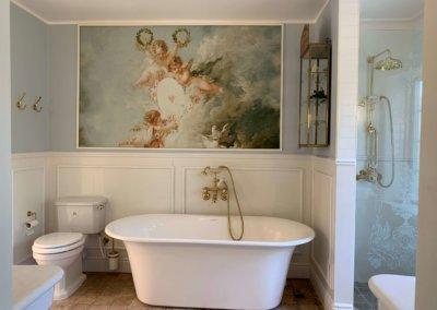 Badeværelse i klassisk/romantisk stil