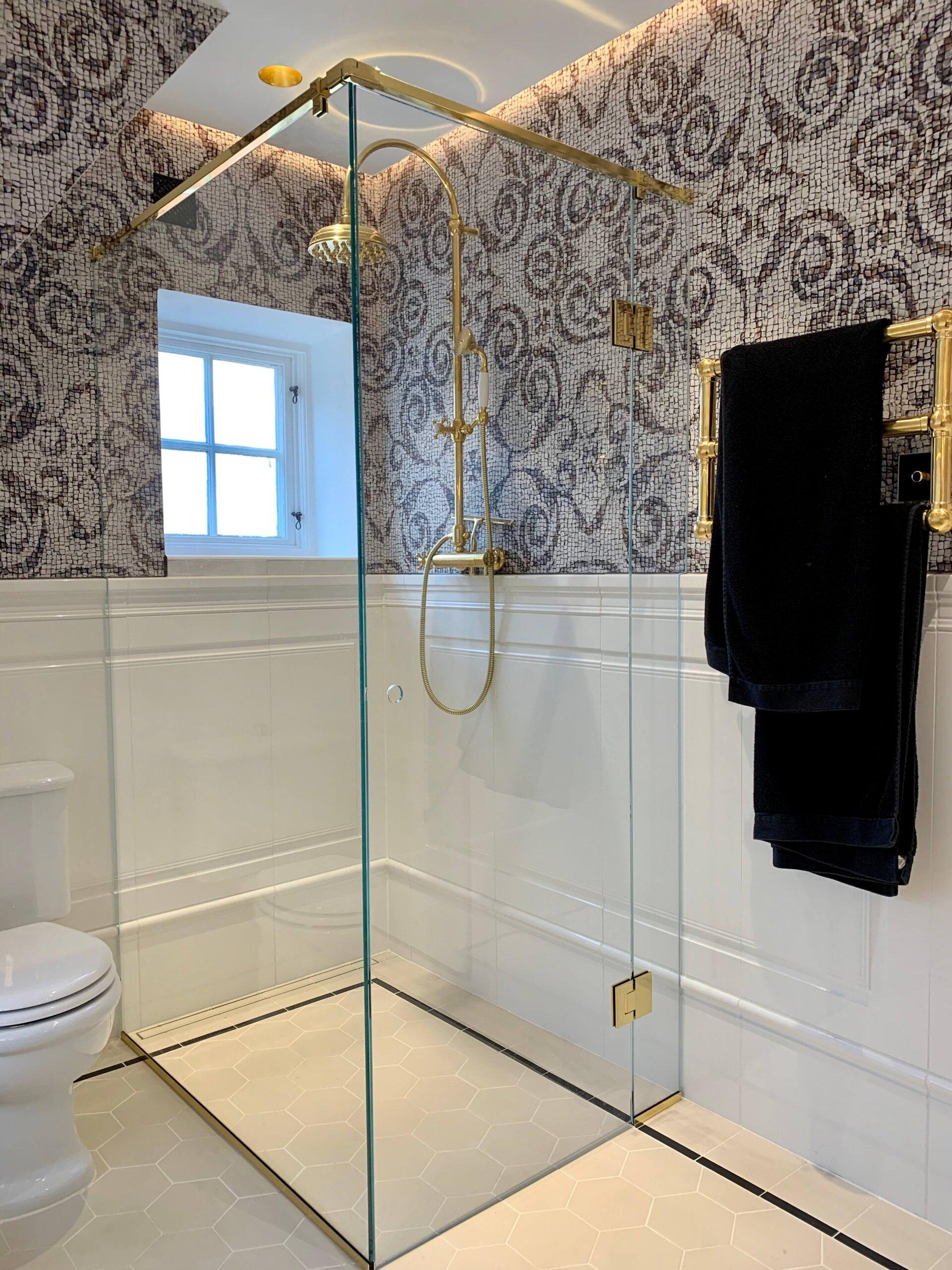 Badeværelse efter totalrenovering