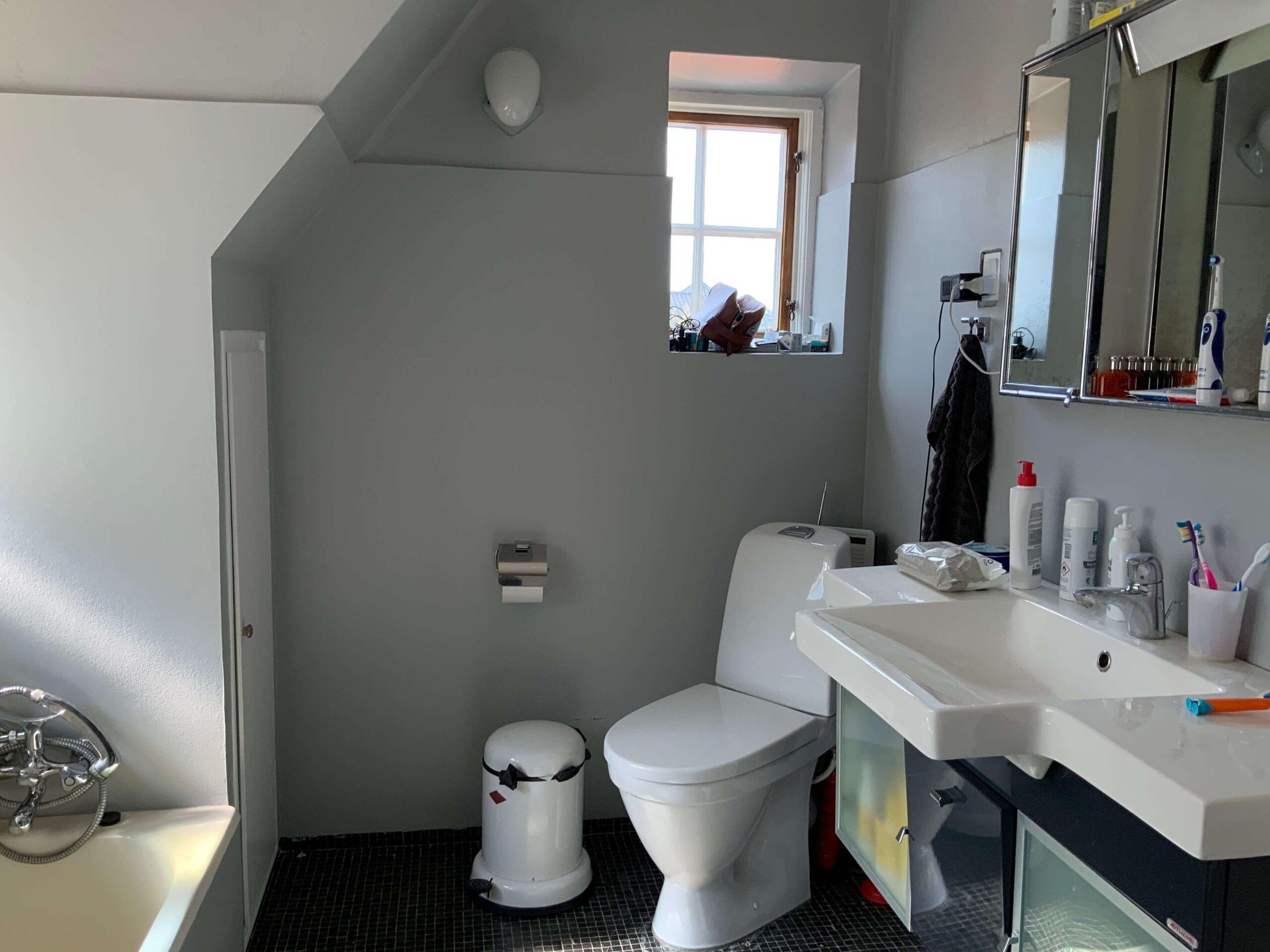 Badeværelse, FØR