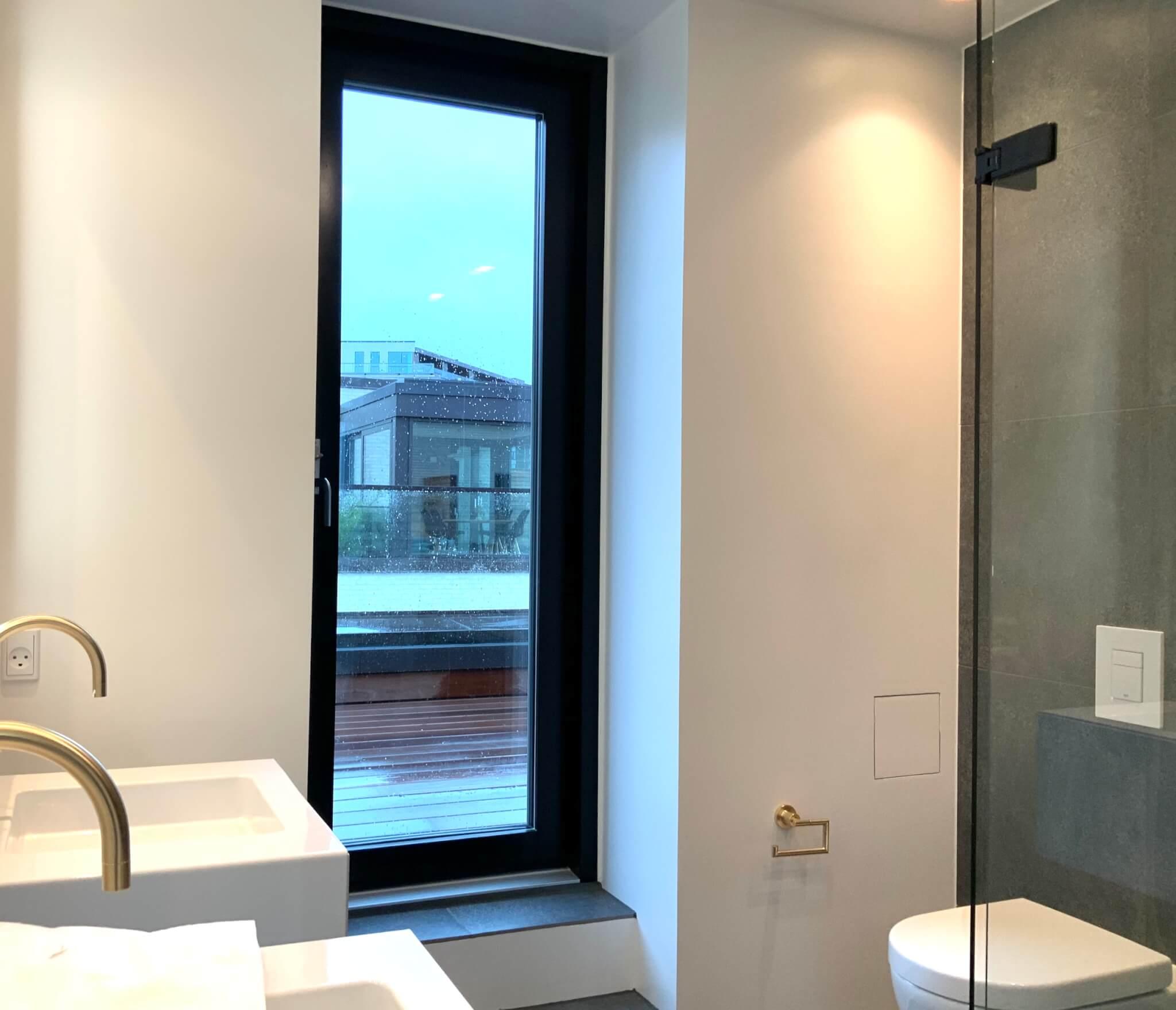 Badeværelse med italienske klinker